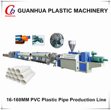 16-160mm pvc plastic making machine/PVC pipe extrusion line/PVC plastic pipe production line