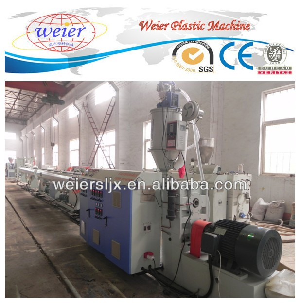 Qingdao Jiaozhou PPR PERT reinforced pipe production line PPR multi layer silicone core pipe extruder silicone pipe production