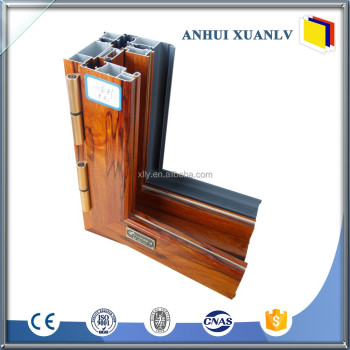 Chinese manufacturer aluminum framed double glazed sliding window