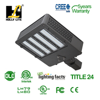 Led Shoe Box Lights with New Chip ,UL and DLC , USA Guarantee
