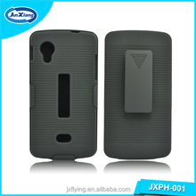 Alibaba wholesale 180 degree belt clip case for lg nexus 5 holster combo cover