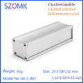 high quality diy case aluminum electronic enclosure project distribution box