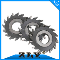 OD75mm carbide tipped brazed slitting saw side cutter