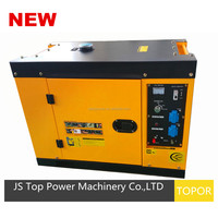 7kw Air Cooled Silent Diesel Generator