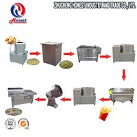 Industrial Fresh Fried Potato Chips Machine, Small Scale Potato Chips Machine Price For Home