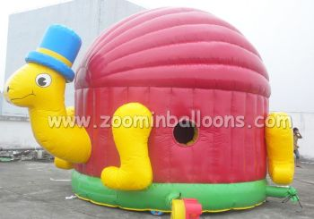 Funny inflatable turtle bounce house for sale Z1028