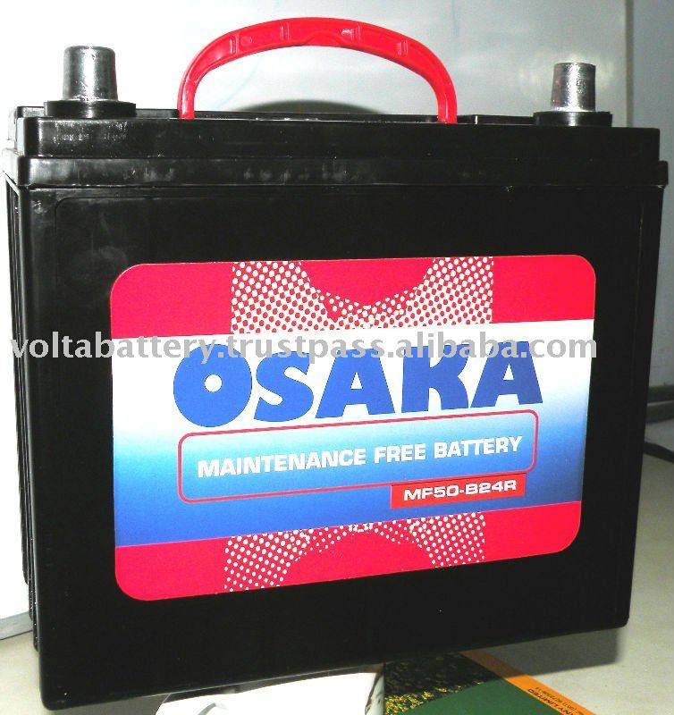 MF-50B24R/L Maintenance Free Calcium Battery