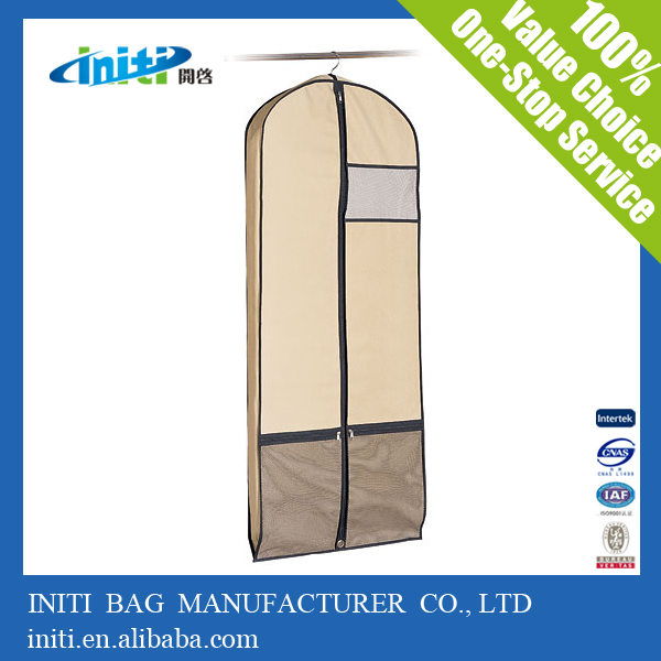 Factory Price Logo Printed Wheeled Garment Bag