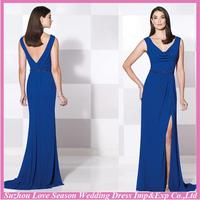 HM5006 2015 latest navy blue mother of the bride dresses made in China