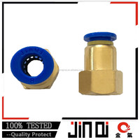 reasonable prices pneumatic push-in brass joint