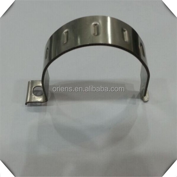 Made In China Oem High Temp Galvanized U Type Pipe Clamps