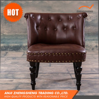 High Technology Quality-Assured Antique Leather Sofa