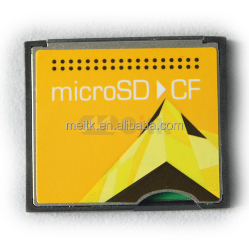 Hot Sales SD SDHC to CF Card Adapter For Sales