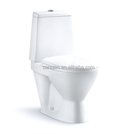 dual flush ceramic washdown two piece toilet bathroom cheap one piece toilet prices