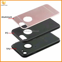 2 in 1 PC+Silicone Hybrid Smartphone Mobile Accessory Fancy Cell Phone Case for iphone 7