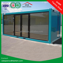 20ft flat pack movable portable cheap 40ft container house Japanese new design villa home prefab container house