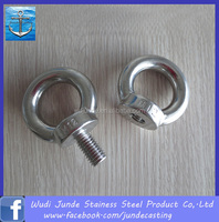 316l stainless steel chain bolts/small eye bolts