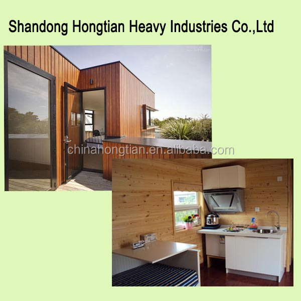 low cost prefabricated container house for villa
