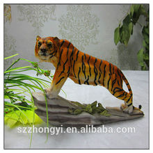 2014 China Supplier hot new products lifelike resin tiger sculpture,wholesale examples of handicrafts