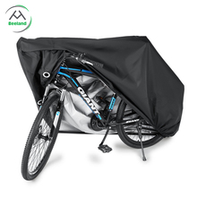 Heavy duty oxford waterproof bicycle rain cover for two bike