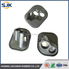 Customized compression molded oil resistant auto use EPDM NBR rubber parts