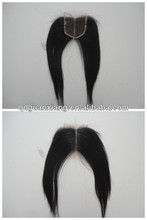"Middle parting 4"" * 4"" Brazilian hair Lace Closure Piece Direct from Factory"