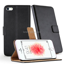 For iphone5 Flip leather case, Stand leather wallet case for iphone5s, for iphonese mobile phone