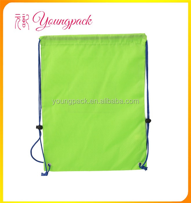 2016 Custom Waterproof Drawstring Fancy Shopping Bag