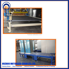 poly-vee driving motorized roller conveyor