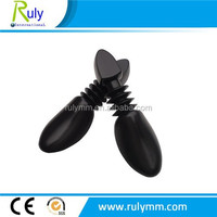 factory price blowing PE plastic shoe trees for men