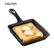 Nonstick Cast Iron Frying Pan Mini Square Beef Pan