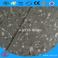 Cheap Fashionable PVC Sponge Flooring Indoor Marble Look Vinyl Flooring Plastic Flooring
