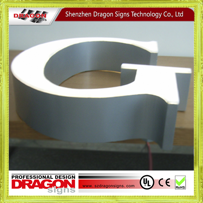 China supplier high quality aluminum letter for HongKong