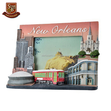 Tourist souvenir New orleans city new style polyresin photo frames