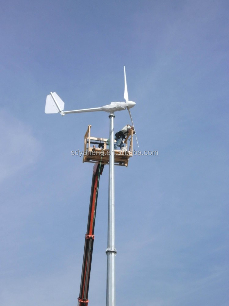home use off grid pitch control 3000w wind turbine with cheap price