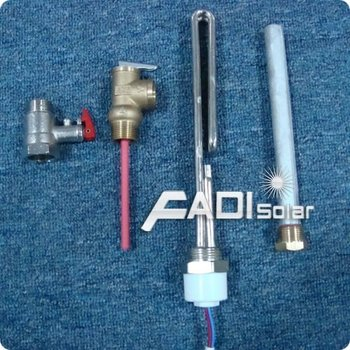 Compact Pressurized Solar Water Heater Accessories