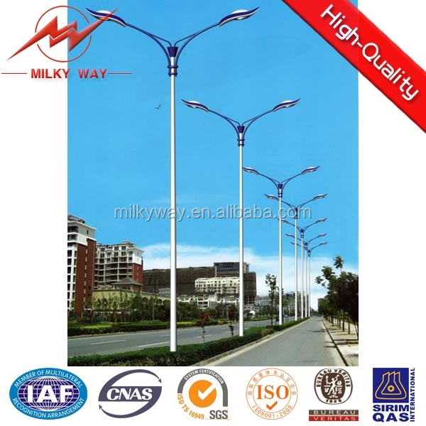 outdoor lighting led street light pole housing manufacturer