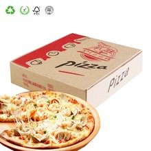 Custom Cheap Recyclable Corrugated Pizza Box for Sale