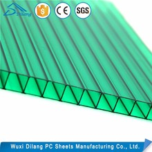 Newest design hollow polycarbonate sheet price malaysia