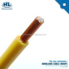 THHN THW THWN copper wire nylon jacket 18AWG 16AWG 14AWG 12AWG 10AWG 8AWG electric building cable
