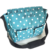 Zip-lock Polyester Large Custom Travel Mummy Baby Diaper Bag With Water Bottle Holder