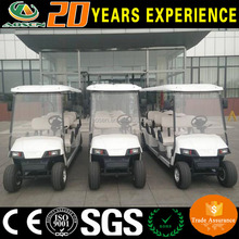 4 wheel drive electric 8 person golf carts mini golf bus with CE