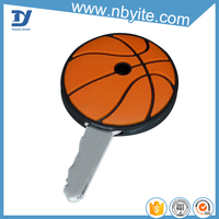 Hot selling most popular novelty pvc key cover