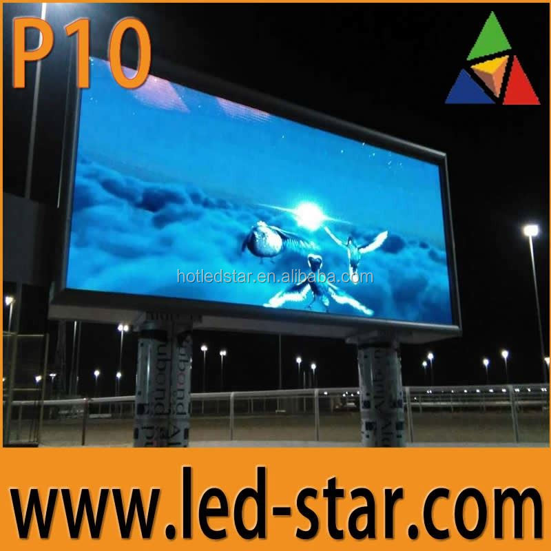 HD Video P10 Outdoor Waterpfoor LED Screen Hot in Qatar and Saudi Arabia
