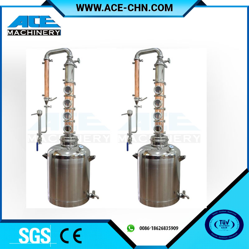 Top quality alcohol distillation equipment fractional alcohol distillation column