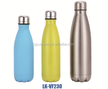 18/8 double wall stainless steel vacuum flask hot water bottle