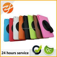ultra slim colorful rotating leather case for iPad Air,360 degree