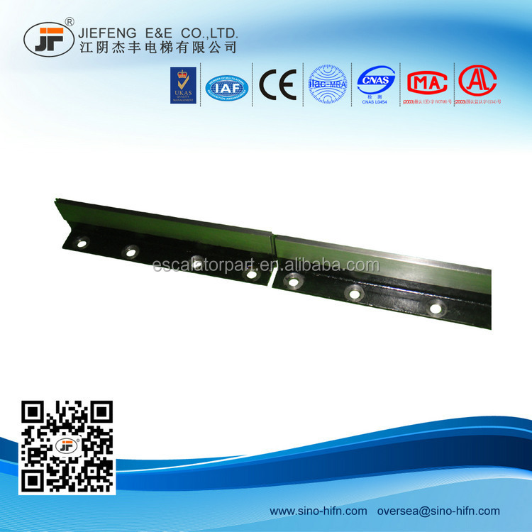 T70/B machined guide rail /guide rail for elevator