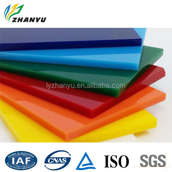 Wholesale Cast Acrylic Panel Large Plastic Sheet China Manufacturer