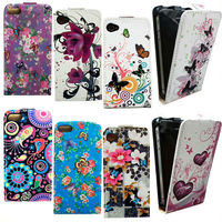 Flower Leather Flip Case Cover for Samsung Galaxy S4 i9500